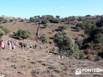 Ruta senderista por el embalse de Puentes Viejas;ruta senderismo la pedriza;ruta a pie madrid